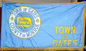 Town of Gates flag