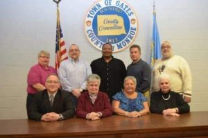 Standing(left-right): Greg Westbrook, Chris DiPonzio, Steve Murphy, John Unson, Rob Keister Seated(left-right): Brom Bianchi, Valerie Young, Eileen Andrews, Rhoda Ride